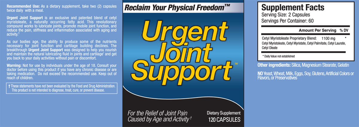 Urgent Joint Support
