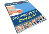 Pre-Program Checklist