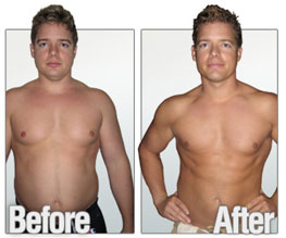 Josh before and after