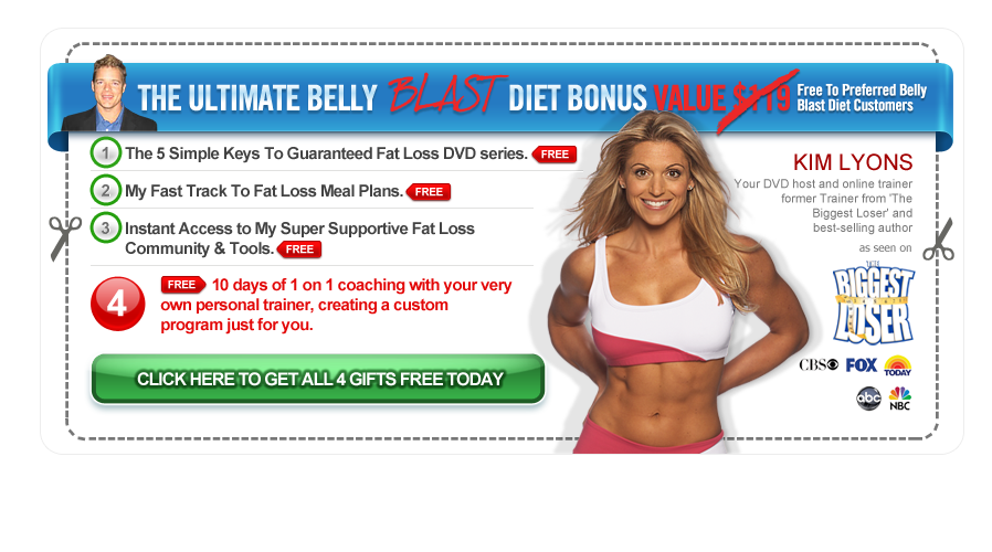 The 7-Day Belly Blast Diet Coupon