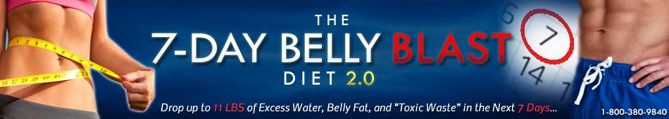 The 7-Day Belly Blast Diet 2.0